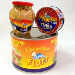 Flott Italian Yellowfin tuna in olive oil